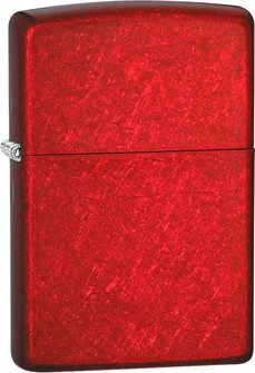 "Org.ZIPPO rot met. ""Candy Apple red"" 60001184"