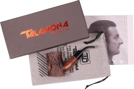 "TALAMONA Freehand Pfeife ""Ramo"" mit Filter  Acrylmundstück"