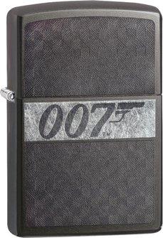 """Org.ZIPPO Grey Dusk gelasert """"007"""" 60003658"""