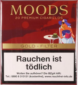 "DANNEMANN Moods""Gold. Taste"" - 20x0,34"