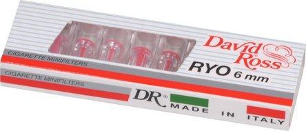 David Ross Minifilter 6mm Inhalt 10 Minifilter