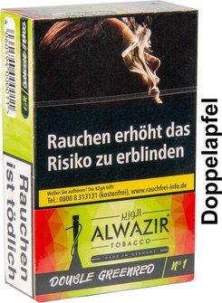 "WP-Tabak Alwazir ""Double Apl No.1"" 50gr"