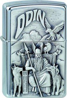 """Org.ZIPPO cr.Plak.""""Wikinger Odin""""1300097"""