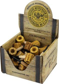 "Mini-Maiskolbenpfeifen ""das Original aus Missouri/USA"""
