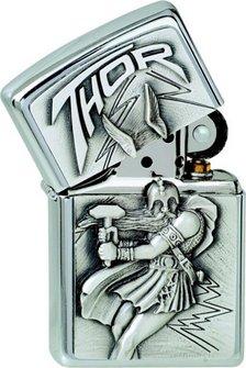 """Org.ZIPPO cr.Plak.""""Wikinger Thor""""1300098"""