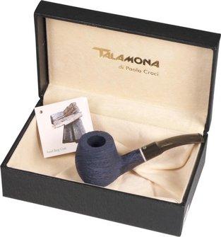 "TALAMONA Freehand Pfeife ""Fossil"" mit Filter Acrylmundstück"