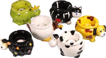 """Windascher Keramik """"Animals"""" sortiert 15cm"""