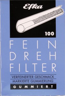 EFKA FEINDREHFILTER (blau) Inhalt 100 Filter