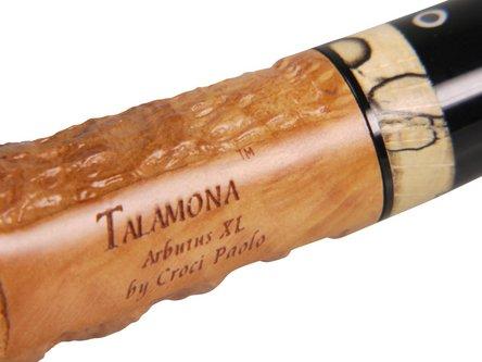 """TALAMONA Freehand Pfeife """"Arbutus XL""""mit Filter Acrylmundst."""