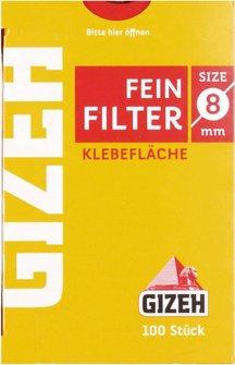 GIZEH FEINFILTER Inhalt 100 Filter