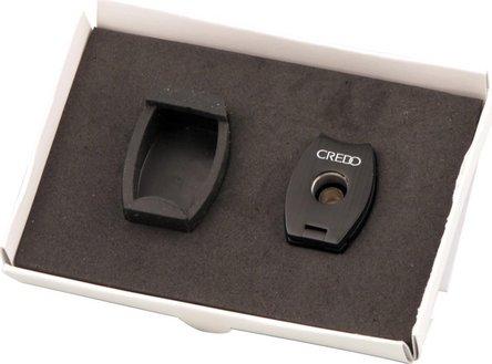 CREDO Cigarren Rundcutter oval 3-in-1 schwarz