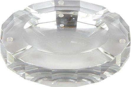 Cigarrenascher Kristallglas/rund  4 Ablagen