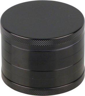 Grinder Aluminium innen konisch, 4tlg, schwarz, Durchm. 62mm
