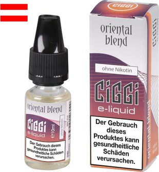 AT CIGGI Liquid Oriental Blend ohne Nikotin 10 ml