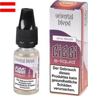 AT CIGGI Liquid Oriental Blend ohne Nikotin 10 ml