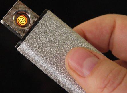 """SKY Spiral-Anzünder """"Samson"""" sort.,  USB-Stecker integriert"""