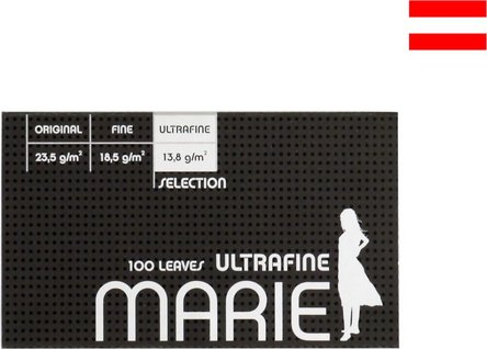 MARIE Ultrafine (weiß) 100 Zigtt.-Papier/Magnet (je 20 Hf.)