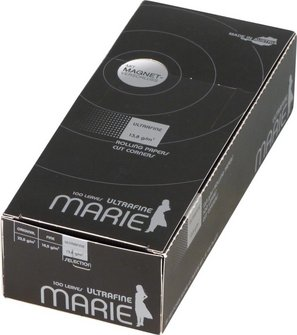 MARIE Ultrafine (weiß) 100 Zigtt.-Papier/Magnet je20