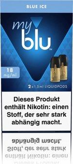 myblu Podpack 1,5ml Blue Ice 18mg/ml Nikotin DE 2er Pack