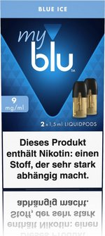 myblu Podpack 1,5ml Blue Ice 9mg/ml Nikotin DE 2er Pack