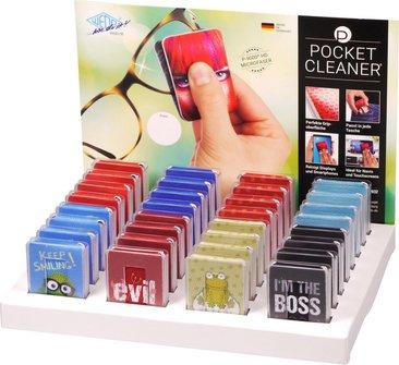 """Brillen- und Displayreiniger """"Pocket Cleaner"""" sortiert"""