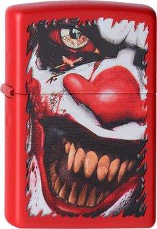 "Org.ZIPPO rot color ""Evil Clown"" 60001388"