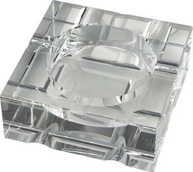 PASSATORE CigarrenascherKristallglas/quadratisch 4 Ablagen