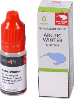 red kiwi FA Liquid Artic Winter (Menthol) None 10ml
