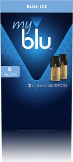 myblu Podpack 1,5ml Blue Ice 0mg/ml Nikotin DE 2er Pack