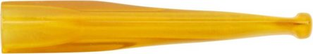 Zigarettenspitze Kunstharz gelb 7 cm