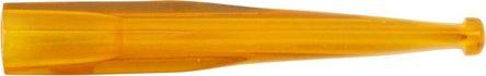 Zigarettenspitze Kunstharz gelb 8 cm