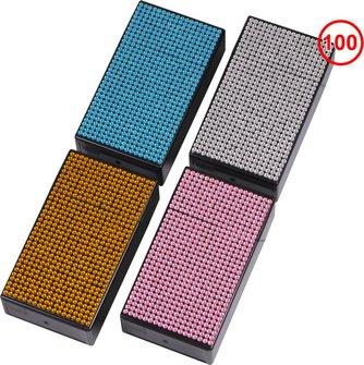 """Cool Zigarettenbox """"Pop up/Long Bling"""" farbig sortiert 100mm"""
