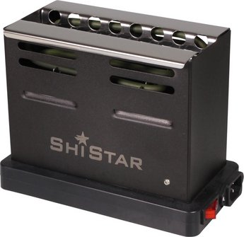 "SHISTAR Elektrischer Kohleanzünder f. Shishakohle ""Toaster"""