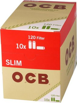 "OCB ""Organic"" Slim Filter ungebleicht Inhalt 120 Filter"