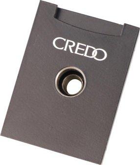 CREDO Cigarren Rundcutter eckig Aluminium 3-in-1 schwarz