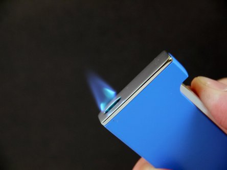 "JEAN CLAUDE ""Flat Flame"" Jet Fzg. blau matt/chrom"