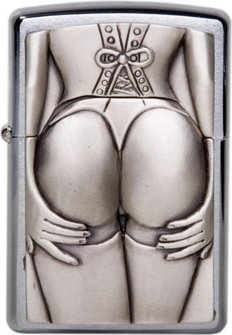 "Org.ZIPPO Plak. ""Stocking Girl""  1300116"