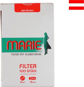 MARIE Feinfilter Inhalt 100 Filter mit Klebefläche
