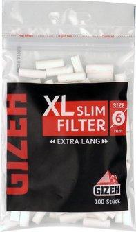 GIZEH BLACK Slim Filter XL  Inhalt 100 Filter