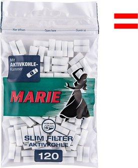 MARIE Slim Filter Aktivkohle Inhalt 120 Filter