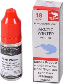 red kiwi FA Liquid Artic Winter (Menthol) High 10ml