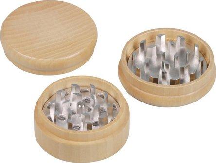 Grinder Holz hell, sortierte Designs 3tlg. Dm55mm/H45mm
