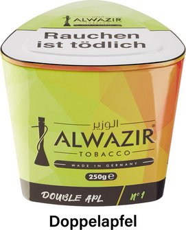 "WP-Tabak Alwazir ""Double Apl No.1"" 250gr-Dose"