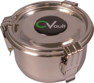CV Premium storage box stainless steel air tight 0.175 l
