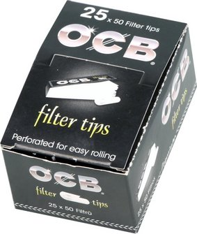 OCB Filter-Tips 50 Blatt, 60x18mm