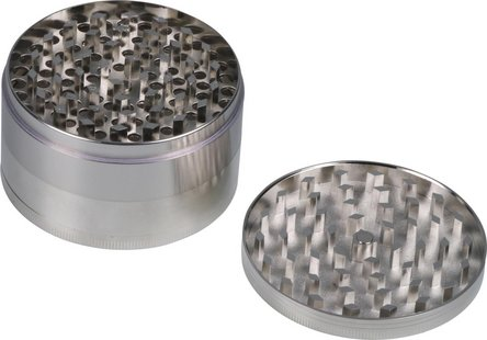 Grinder Metall 4tlg. chrom Durchmesser 75mm/H45mm