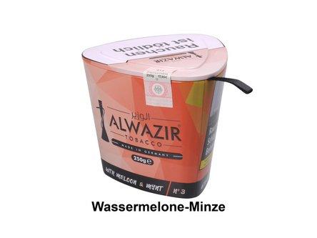 "WP-Tabak Alwazir ""WTR Meloon + Mynt No.3"" 250gr-Dose"