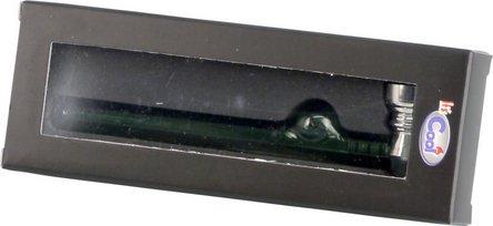 Metall/Glaspfeife bunt sortiert  13cm
