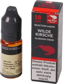 red kiwi Selection Liquid Wild Cherry Alabama High 10ml