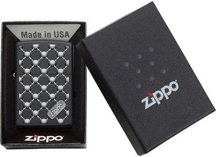 """Org.ZIPPO schwarz color """"Barbell Design"""" 60004439"""